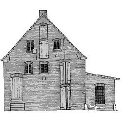 Zeichnung Mühle