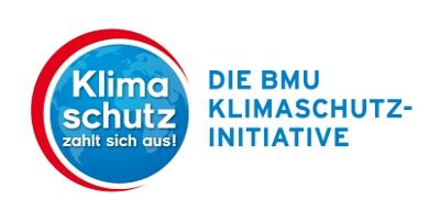 Logo Die BMU Klimaschutzinitiative